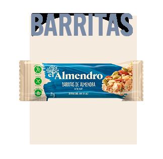 Barritas de alemendras el Almendro