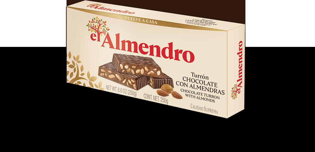 Turrones de chocolate el Almendro