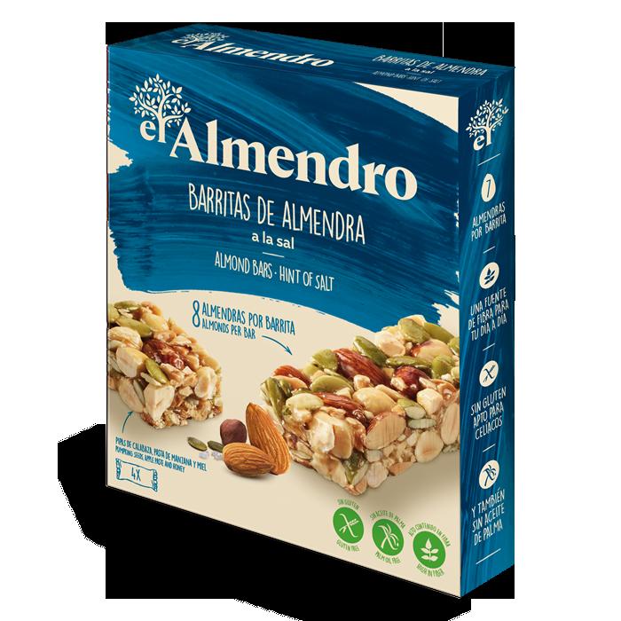 Salted almond bars