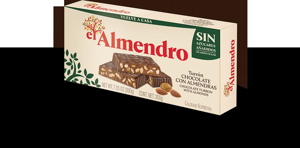 Turrones sin azúcar El Almendro