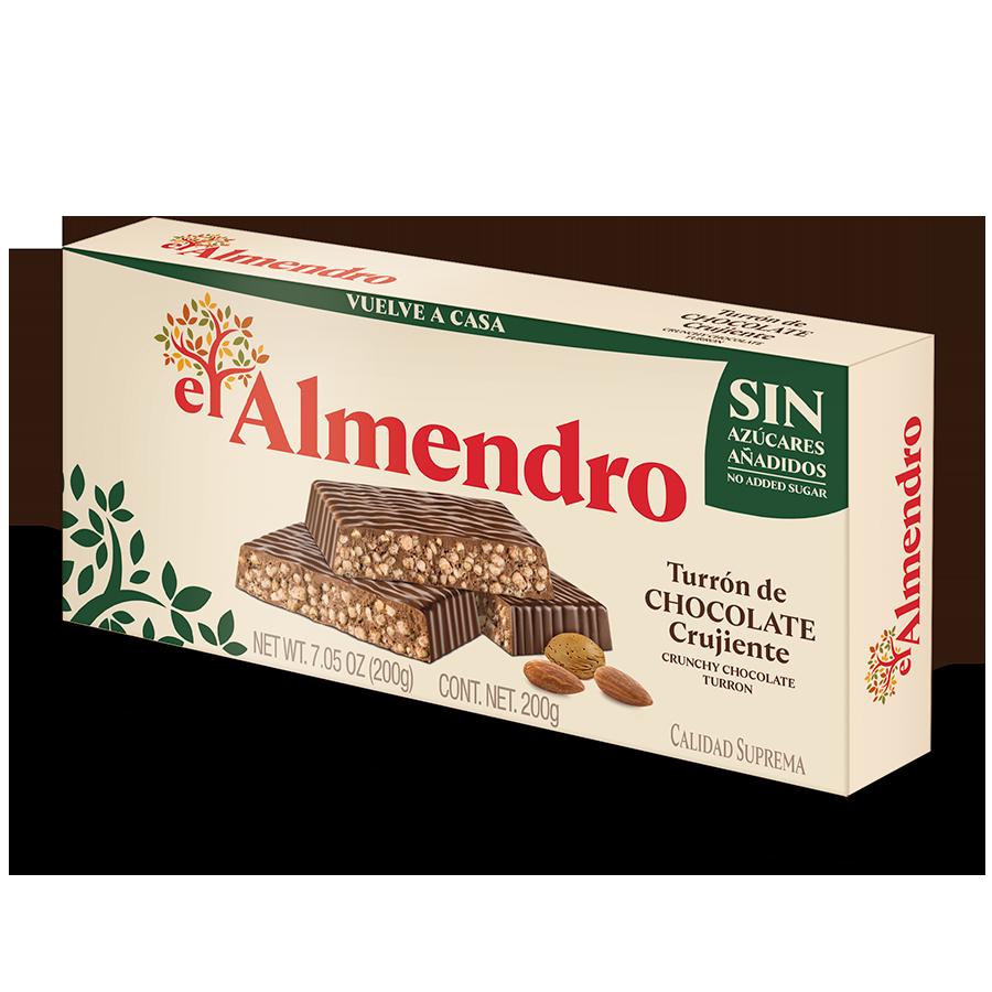 Turrón de Chocolate Sin Azúcar