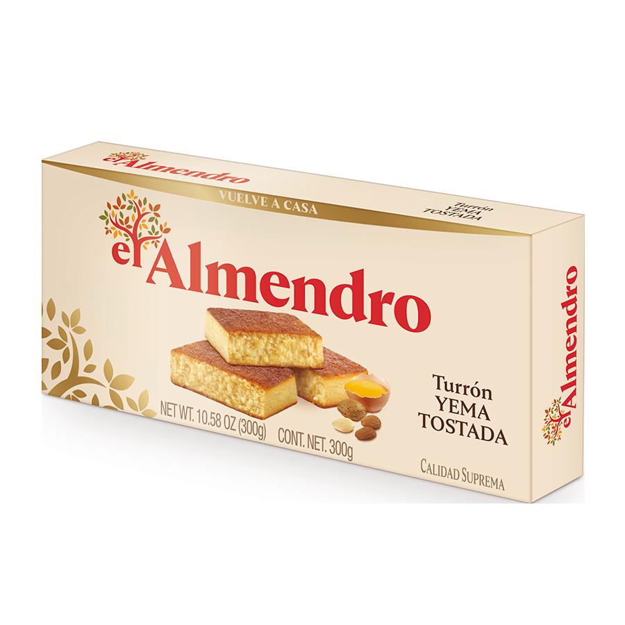 Turrón Yema tostada el Almendro