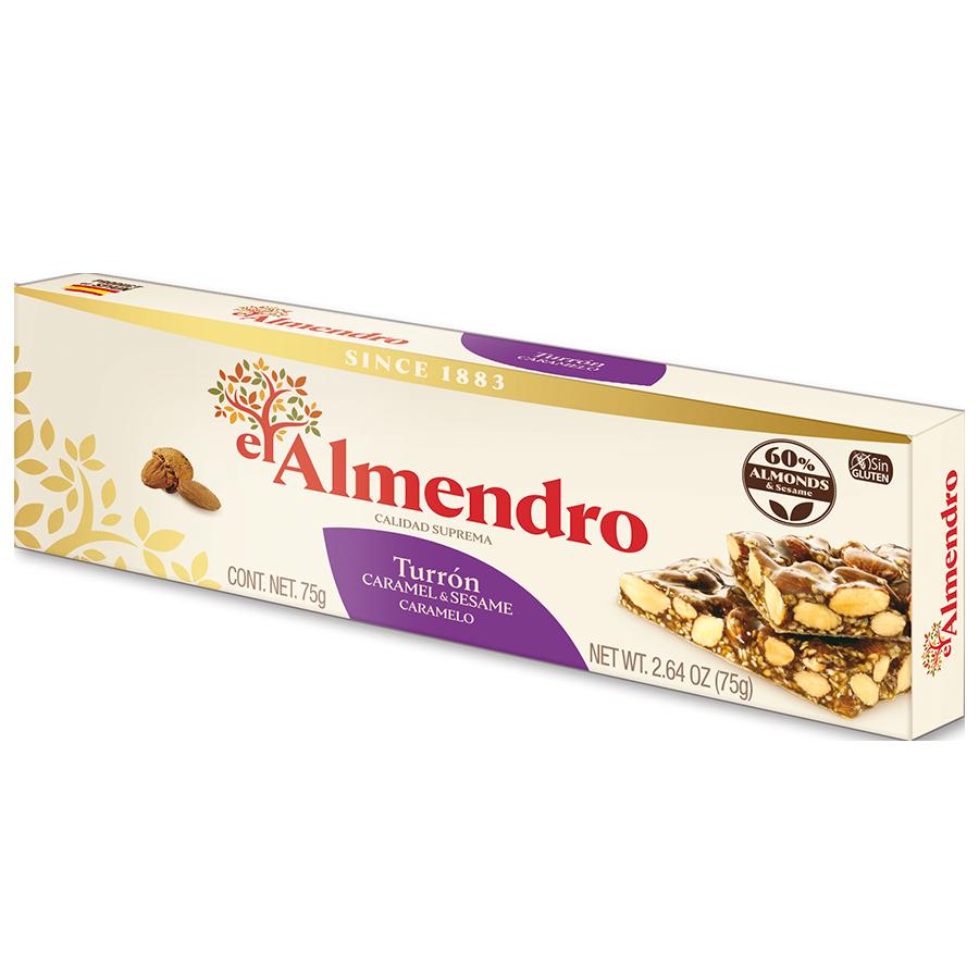 Caramelized Almond Turron