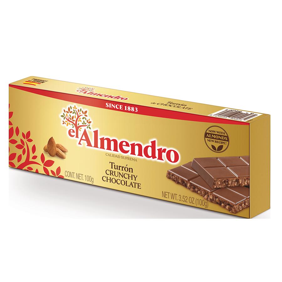 Crunchy Chocolate Turron
