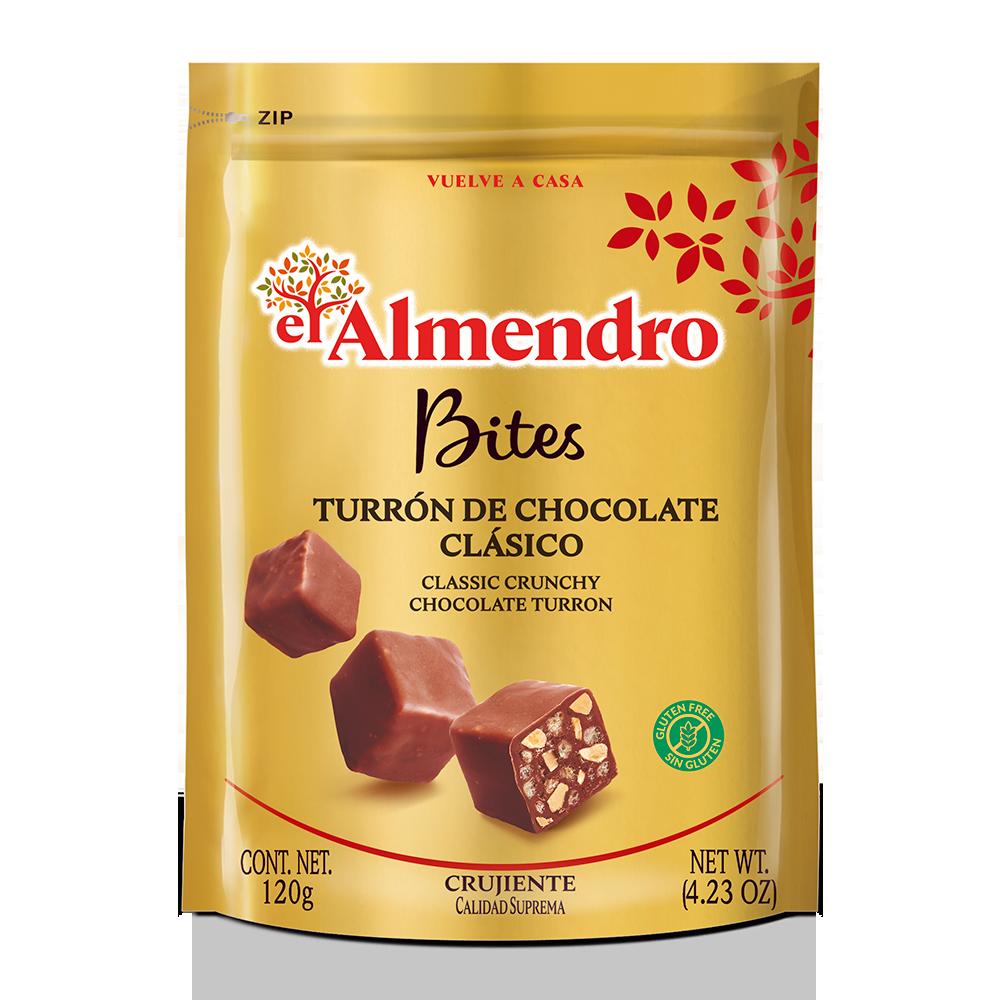 Bites turrón de chocolate clásico