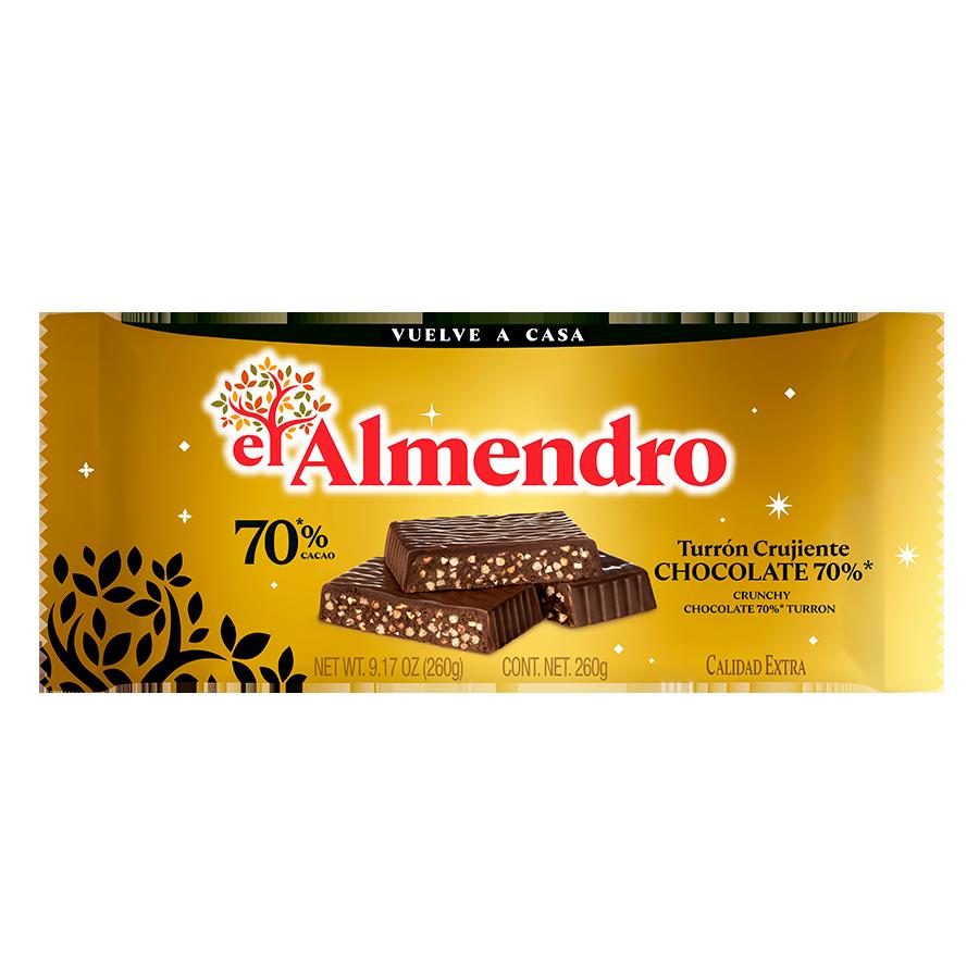 Crunchy 70% Chocolate Turron